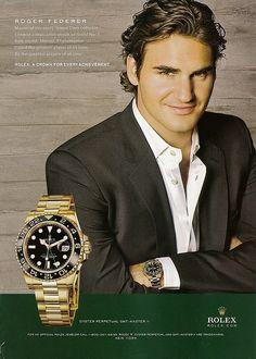 Roger Federer - Rolex by SerenityF, via Flickr