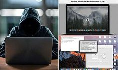 Apple users beware! Developers are giving away the 'most sophisticated Mac spyware ever' that could allow hackers to takeover devices and demand cash ransoms