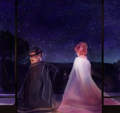 the chuuya/kouyou relationship is Important and there's not enough of it. Stray Dogs Anime, Bongou Stray Dogs, Sky Anime, Anime Art, Chuuya Nakahara, Dazai Osamu, Pretty Art, Best Couple, Dog Art