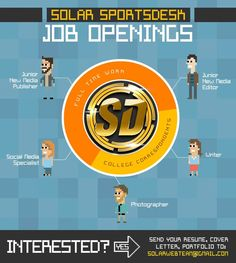 We're hiring! #jobs #sportsjunkies