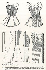 and century corset construction employed the use of patterns. As the wasp waist become more prevalent during the century corsets were cut specifically to the female figure and were … Gothic Girls, Gothic Lolita, Victorian Gothic, Victorian Dresses, Gothic Fashion, Vintage Fashion, Steampunk Fashion, Emo Fashion, Gothic Steampunk