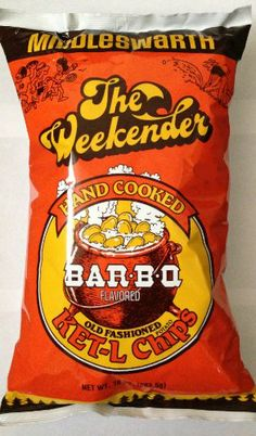 Middleswarth Chips, Kettle BBQ, 10-Ounce (Pack of 2) A Pennsylvania Favorite.