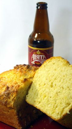 EASY Beer Bread - Stop buying pre-packaged mixes, Make your Own 1/2 the Cost.  Beer bread may be the easiest of any home made bread.  No kneading.  No rising time, just mix a few ingredients (that are always in your pantry anyway) and you have fresh baked home made bread.  I made this loaf with a New Orleans premium beer for Mardi Gras party, but any type will work for any occasion (St Paddy Day maybe)