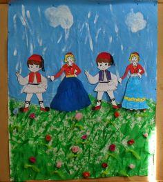 25Η ΜΑΡΤΙΟΥ 25 March, Spring Crafts, Holidays And Events, Ronald Mcdonald, Facebook, Painting, Character, Art, Art Background