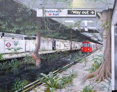 Victoria Jungle - Acrylic on Canvas x Victoria, Signs, Canvas, Gallery, Tela, Roof Rack, Shop Signs, Canvases, Sign