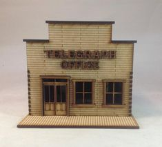 NEW  28mm Old West Saloon PREPAINTED kit.