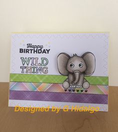 Sometimes making a simple card gets me out of a creative rut. #simonsaysstamp April 2017 kit.