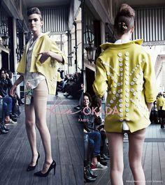 Spring-Summer 15   #KenOkadaParis #JapaneseDesigner #Collection #SS15 #Défilé #FashionShow #FashionWeek