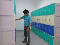 Tủ sắt locker giá rẻ Vinamax: Lắp đặt hệ thống tủ locker tại bệnh viện phụ sản Hà Nội