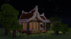 Minecraft Plans, Minecraft Survival, Minecraft Designs, Minecraft Houses, Minecraft Stuff, Minecraft Architecture, House Styles, Building, Painting