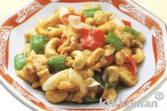 鶏肉とピーマンのカシューナッツ炒め