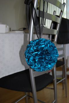 DIY fabric pomander how to