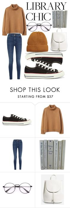 """""""Comfortable Outfit"""" by blackjoker ❤ liked on Polyvore featuring Converse, J Brand and Everlane"""