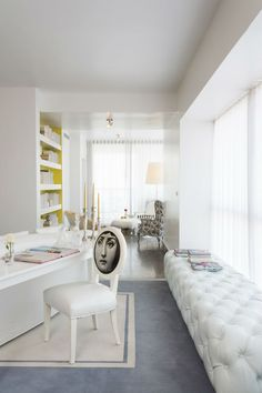 Interior Design Tips by Philippe Starck #phillippestark #interiordesigntips #Livingroomideas Modern Interior Design, dining room interior design, top designers | See also: http://brabbu.com/blog/2016/02/interior-design-tips-by-philippe-starck/