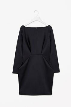 Folded waist dress