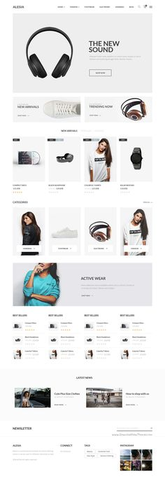 Alesia is an modern and professional design #WordPress theme for multipurpose #tech #shop eCommerce website with 15 + home pages, 7 shop variations, 2 product page layouts, 6 headers, 4 blog styles and many more options download now➯ https://themeforest.net/item/alesia-multipurpose-responsive-wordpress-theme/16508038?ref=Datasata