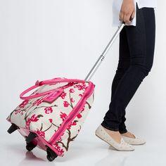 High Roller floral getaway bag!