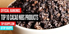 We've ranked the best cacao nibs products you can buy right now. These top 10 cacao nibs items are the highest rated and best reviewed online.