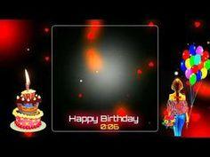 Happy birthday wishes Avee player and kinemaster G Happy Birthday Template, Happy Birthday Video, Happy Birthday Photos, Happy Birthday Greetings, Happy Birthday Banners, Youtube Birthday, Sister Birthday, Birthday Wishes Gif, Birthday Photo Banner