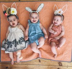 Rosie's First Easter - Barefoot Blonde by Amber Fillerup Clark
