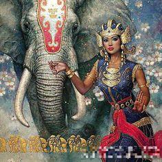 Popular Thai Silk Painting-Buy Cheap Thai Silk Painting lots from ...