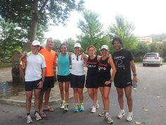 entrenamiento para debut en la media maratón del bajo pas (agosto-2012)