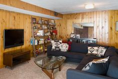 family room Portland House, Family Room, This Is Us, Divider, Couch, Furniture, Home Decor, Homemade Home Decor, Sofa