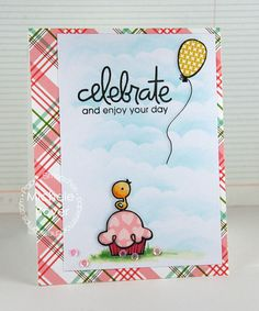Card by PS DT Michele Boyer using PS Birthday Bash, My Peeps