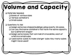 Measurement Activities and Questions to Ask - Teaching to Inspire with Jennifer Findley