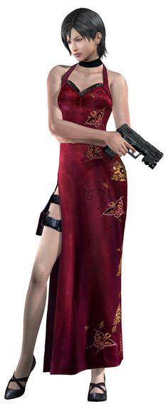 Ada Wong & Handgun