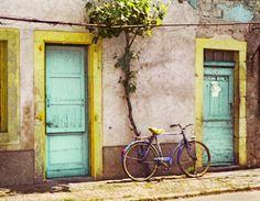 Aqua doors somewhere in sw France.
