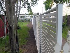 Easy to install Click 'N' Fit DIY fences. http://www.superiorscreens.com.au/gallery-cliknfit-fencing-and-gates.html