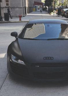 Murdered out Audi! Beautiful