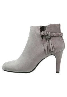 Anna Field Ankle Boot grey Schuhe bei Zalando.de   Obermaterial: Textil, Innenmaterial: Lederimitat/ Textil, Sohle: Kunststoff, Decksohle: Lederimitat   Schuhe jetzt versandkostenfrei bei Zalando.de bestellen!