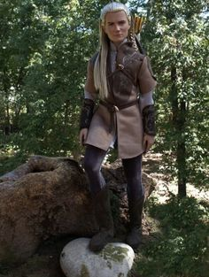 About OOAK Legolas: OOAK Legolas, resculpted and rerooted from Will Turner. OOAK costume.