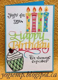 #ElizabethCraftDesign Dies, Peel Offs, glitter, sentiment stamps by #QuietfireDesign - http://yogiemp.blogspot.ca/2015/08/a-way-with-words-ecd-happy-birthday-let.html
