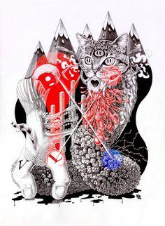 Vincent Laugier December 15 2019 at Great Artists, Cool Art, Behance, Punk, Classic, Creative, Illustration, Artwork, Cards