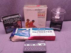 Lot of 5 Vintage Retro Household Gadgets Oster Infra Red Heat Massager 0647 | eBay