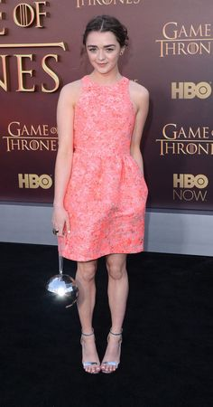 Maisie Williams stepped out in style for the Game of Thrones premiere in San Francisco — check out more pictures of the cast letting loose at an afterparty!