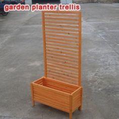 TRELLIS PLANTER 5ft TRELLIS WOOD BOX PLANTER QUALITY WOODEN PLANTING TROUGH in Garden & Patio, Plant Care, Soil & Accessories, Baskets, Pots & Window Boxes | eBay