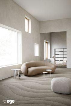 Weekly Obsessions: A New Wave Decor Interior Design, Furniture Design, Interior Decorating, Sofa Design, Case Study Design, Modernism Week, Textured Carpet, New Wave, Wave Design