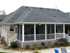 screened porches | Screened-in Porches, Screen Porch Construction
