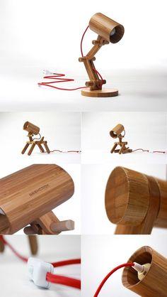 Si può mettere insieme la propria lampada di bambù scrivania e essere certi è completamente eco-friendly.