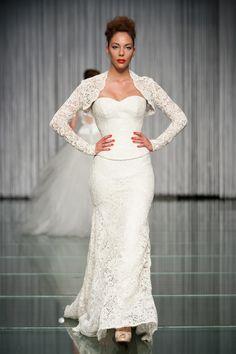 Daalarna Wedding Dress - White Collection on the Runway