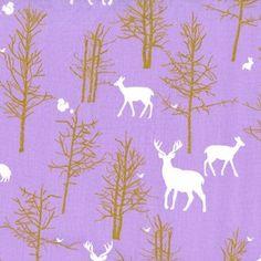 Patronus fabric. Violet Craft - Brambleberry Ridge - Timber Valley in Lilac