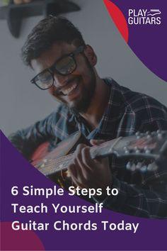 All Guitar Chords, Guitar Solo, Guitar Tips, Learn Guitar Beginner, Learn To Play Guitar, Guitar For Beginners, Basic Guitar Lessons, Vocal Lessons, Teach Yourself Guitar