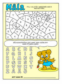 Free mouse-crochet pattern (Swedish) and others Teacher Education, Kids Education, Learning Support, Math Numbers, Montessori Materials, Learning Letters, Toddler Fun, Family Kids, Colorful Pictures