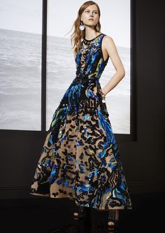 ELIE SAAB Resort 2018 Haute Couture Style, Couture Mode, Couture Fashion, Runway Fashion, Elie Saab Couture, Diane Kruger, Jessica Chastain, Sonam Kapoor, Daytime Dresses