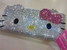 Images and videos of hello kitty Hello Kitty House, Hello Kitty Bag, Kitty Kitty, Bling Phone Cases, Hello Kitty Images, Hello Kitty Collection, Sanrio, Deco, Barbie