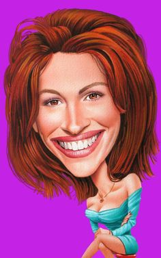 """Julia Roberts ** The PopDot Artist ** Please Join me on the Twitter @AlabamaBYRD & Be my Friend on the FaceBook --> http://www.facebook.com/AlabamaBYRD ** BIG BYRD HUGS & SMILES & PRAYERS TO EVERYONE IN NEED EVERYWHERE ** ("""")< Chirp Chirp said THE BYRD http://www.facebook.com/AlabamaBYRD"""
